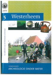Westerheem, nr . 5, 2012 - Rijksdienst voor het Cultureel Erfgoed