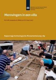 Merovingers in een villa - Rijksdienst voor het Cultureel Erfgoed