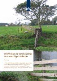 H 10, Tuunwallen op Texel en langs de voormalige Zuiderzee. Henk ...