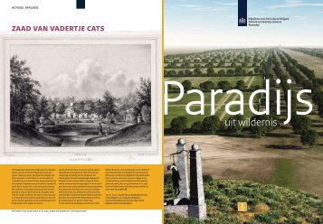 Nummer 3, zomer 2010 - Rijksdienst voor het Cultureel Erfgoed