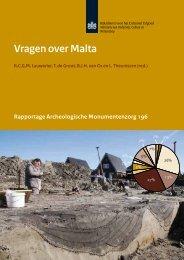 (red.), Vragen over Malta - Rijksdienst voor het Cultureel Erfgoed