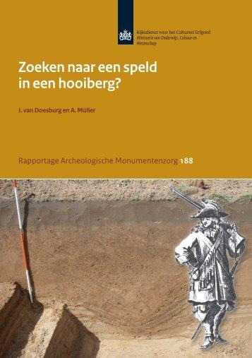 11697_BW_RAM Gennep.indd - Rijksdienst voor het Cultureel ...
