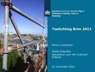 Presentatie Toelichting Brim 2013, 22-12-2012 - Rijksdienst voor het ...