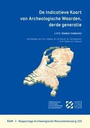 De Indicatieve Kaart van Archeologische Waarden, derde generatie
