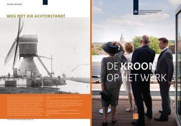 Nummer 1. zomer 2009 - Rijksdienst voor het Cultureel Erfgoed
