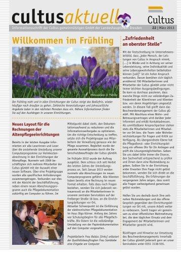 Ausgabe 22/2013 - Cultus gGmbH Dresden