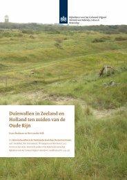 H 9, Duinwallen in Zeeland en Holland ten zuiden van de Oude Rijn ...