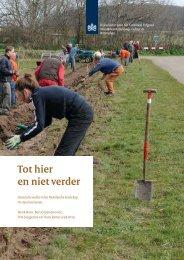 Tot hier en niet verder. Historische wallen in het Nederlandse ...