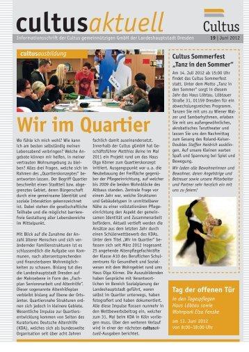 Ausgabe 19/2012 - Cultus gGmbH Dresden