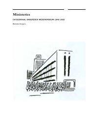 Ministeries - Rijksdienst voor het Cultureel Erfgoed