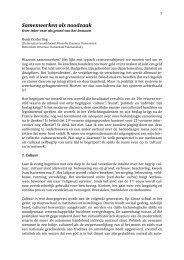 Integrale tekst presentatie Henk Oosterling [PDF] - Cultuurnetwerk.nl