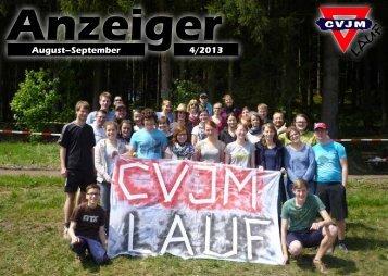 CVJM Anzeiger August September 2013 - CVJM Lauf