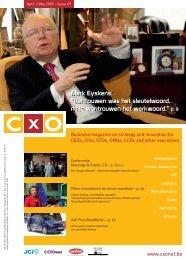 Mark Eyskens - CxO