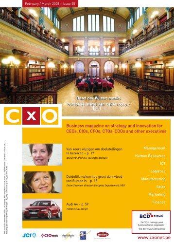 Raad der Wijzen maakt Europese stand van zaken - CxO