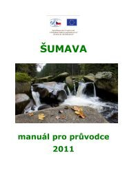 ŠUMAVA - CzechTourism