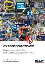 DAF veiligheidsvoorschriften Westerlo - Daf.com