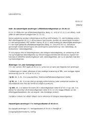 læsevejledning til bekendtg nr 1415 dec 2011 - Dakofa