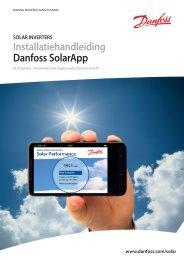 Installatiehandleiding Danfoss SolarApp