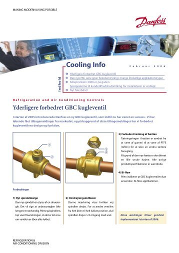 Cooling Info - Danfoss
