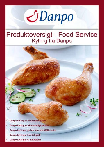 Produktoversigt - Food Service - Danpo