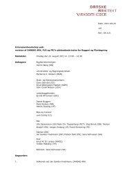 Referat fra Iworkshop - Dansk Byggeri