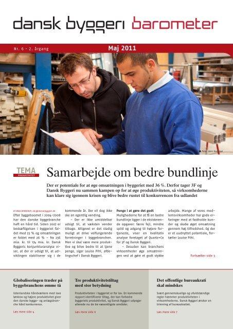 Se PDF - Barometer nr. 6/2011 - Dansk Byggeri