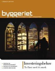 Læs alle artikler i Byggeriet nr. 4, juni 2009. - Dansk Byggeri
