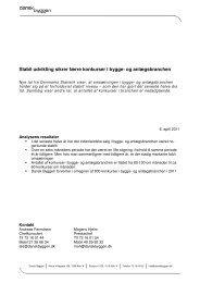Se Dansk Byggeris analyse af de seneste omsætnings