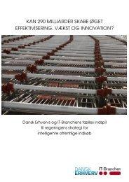 kan 290 milliarder skabe øget effektivisering, vækst ... - Dansk Erhverv
