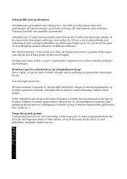 Fokus på løft, træk og vibrationer Arbejdstilsynet ... - Dansk Erhverv