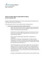 Referat af møde nr. 1 i Rådet for Lægemiddelovervågning
