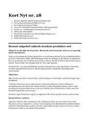 Kort Nyt nr. 28 - Dansk Erhverv