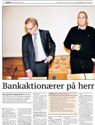 Bankaktionærer på herrens mark - Dansk Formue ...