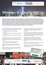 Silkevejen til vækst for SMV'er - Dansk Erhverv