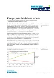 Kæmpe potentiale i dansk turisme - Dansk Erhverv