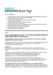 den printvenlige udgave af Kort Nyt nr. 17 -april 2011 - Dansk Erhverv