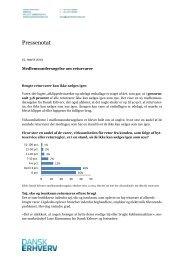 Pressenotat om brugte returvarer (af 15. marts 2013). - Dansk Erhverv