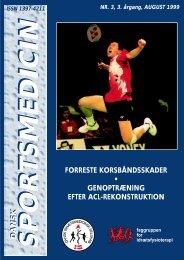 Hent hele bladet som pdf - Dansk Sportsmedicin