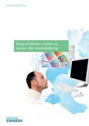 Brug af billeder, citater og navne i din markedsføring - Dansk Erhverv