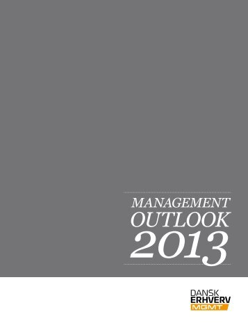 Management Outlook 2013 – metodeappendiks - Dansk Erhverv