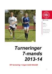 7-mands – Invitation 2013-14 - DBU Jylland