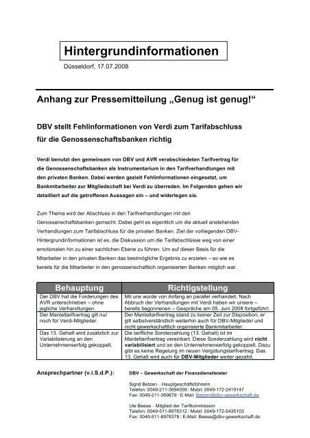 tarifverhandlungen genossenschaftsbanken 2019