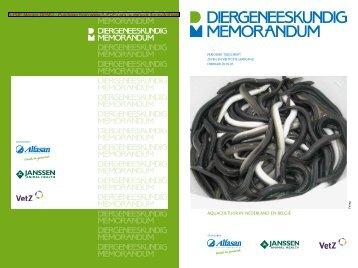 A-PDF Merger DEMO - Diergeneeskundig Memorandum