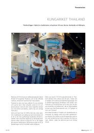 KUNGARIKET THAILAND - DECO Magazine - The site - Tornos SA