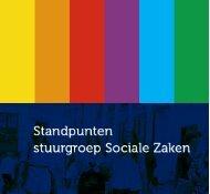 Standpunten stuurgroep Sociale Zaken - Detailhandel Nederland