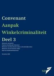Convenant Aanpak Winkelcriminaliteit Deel 3 - Detailhandel ...