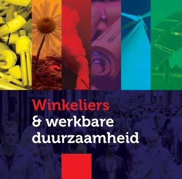 Winkeliers & werkbare duurzaamheid - Detailhandel Nederland