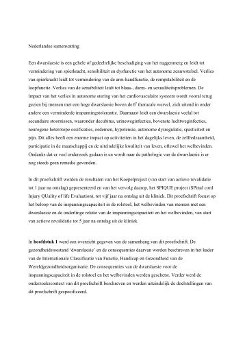 Samenvatting Proefschrift Casper van Koppenhagen - Hoogstraat