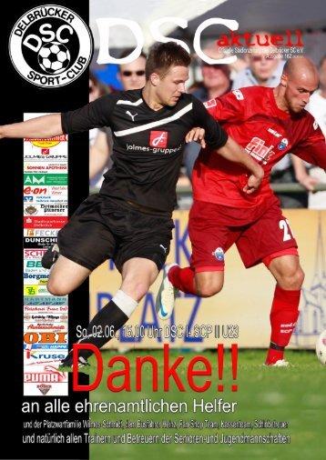 DSC Aktuell Nr.: 0162 / Ausgabe: 02.06.2013 - Delbrücker SC