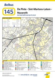 Belbus 145 De Pinte - Sint-Martens-Latem - Nazareth (pdf ... - De Lijn